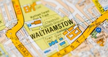 Walthamstow map